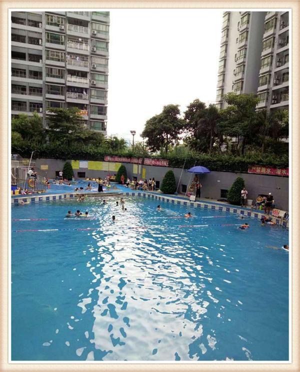 沙井城市丽都花园|20栋花园小区房 自带游泳池 篮球场 羽毛球场|地下停车场