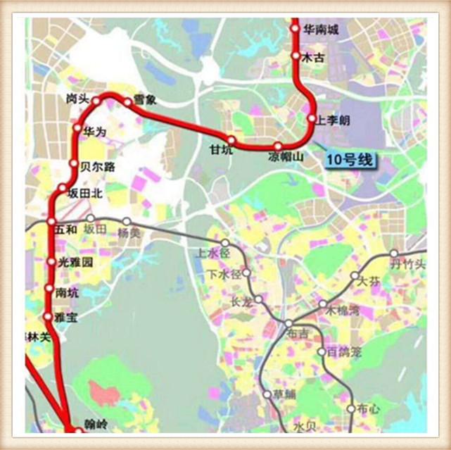 深圳坂田小产权岗头公馆距地铁口200米
